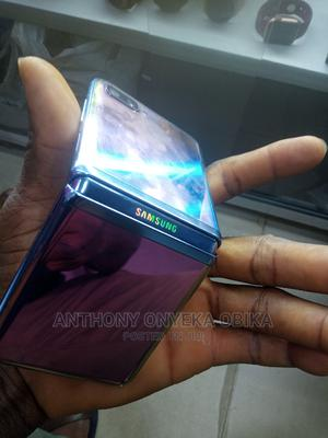 Samsung Galaxy Z Flip 256 GB Blue | Mobile Phones for sale in Lagos State, Ikeja