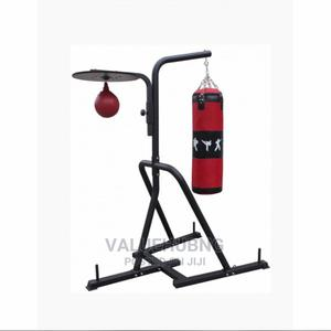 Punching Bag + Punching Bag Stand | Sports Equipment for sale in Lagos State, Lekki