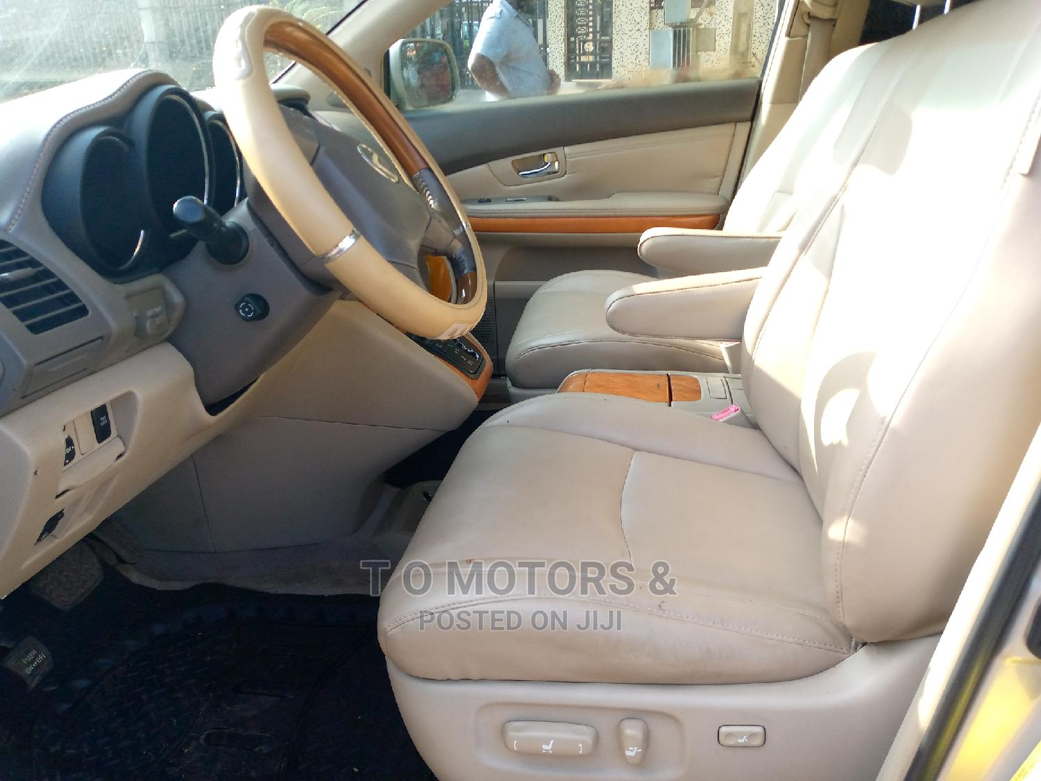 Lexus RX 2007 350 Gold | Cars for sale in Ikeja, Lagos State, Nigeria