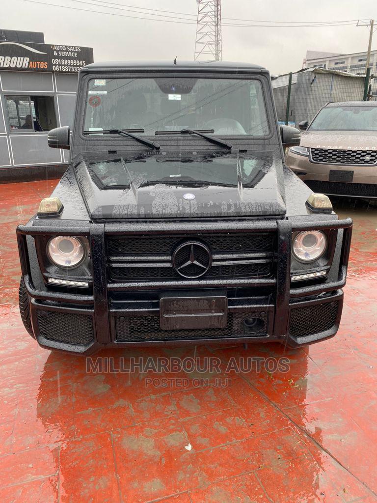Mercedes-Benz G-Class 2014 Black