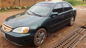 Honda Civic 2002 Green | Cars for sale in Abuja (FCT) State, Kubwa