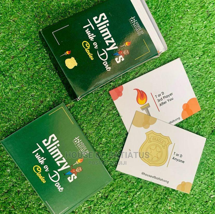 Slimzy'S Truth or Dare Card Game | Books & Games for sale in Surulere, Lagos State, Nigeria