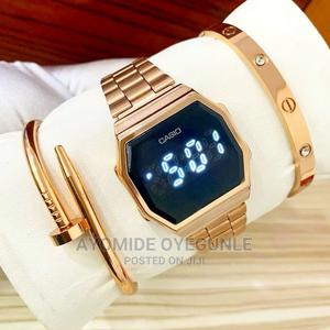 Luxury Casio Digital Touch Screen Wrist Watch + Bracelets   Watches for sale in Lagos State, Surulere