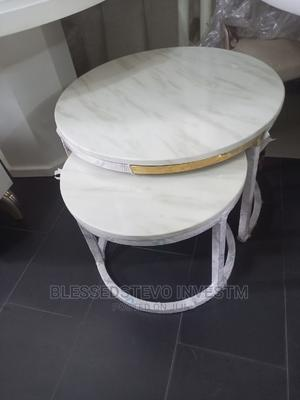 Gold Round Marble Center Table | Furniture for sale in Lagos State, Amuwo-Odofin