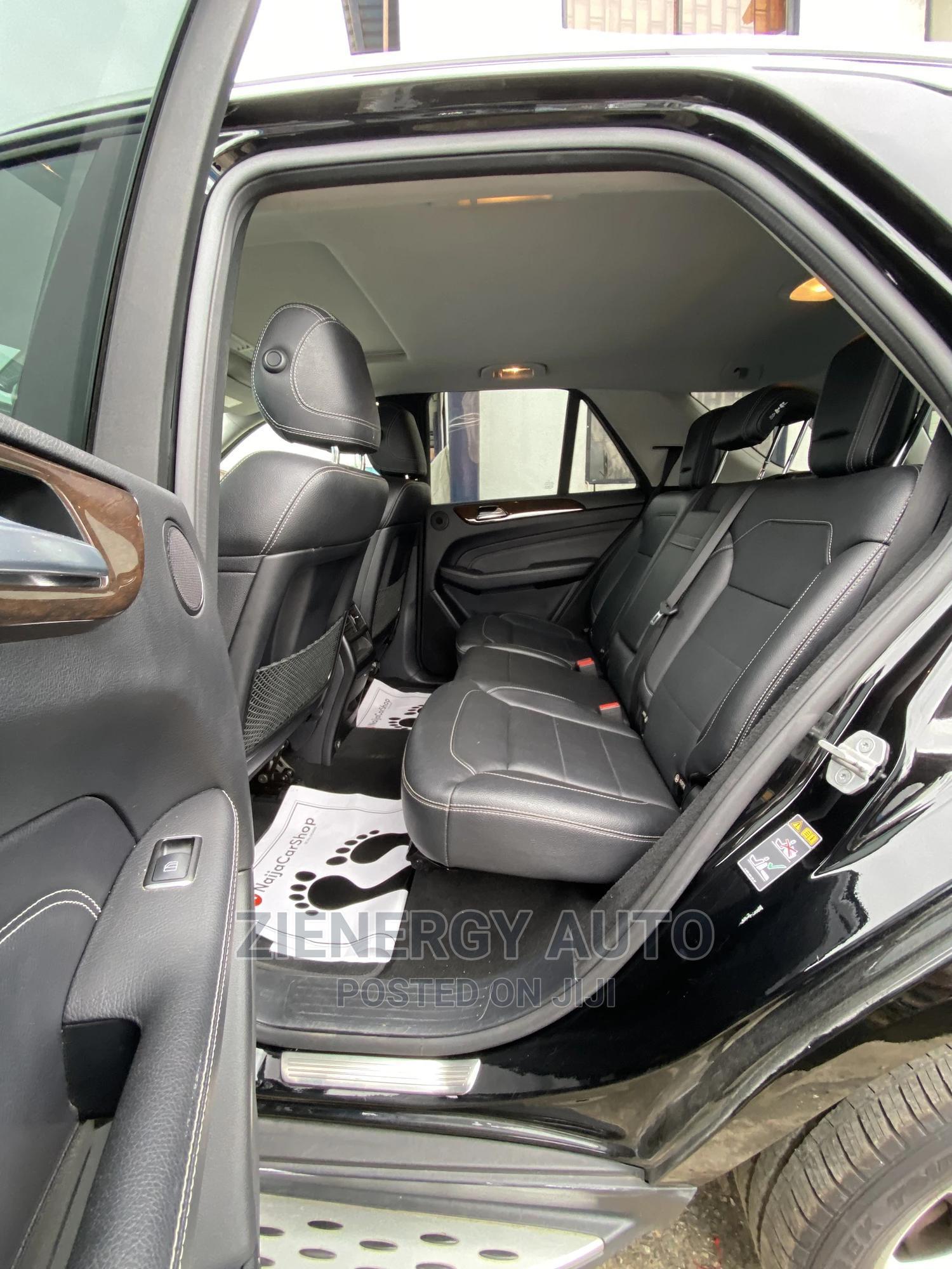 Archive: Mercedes-Benz M Class 2014 Black