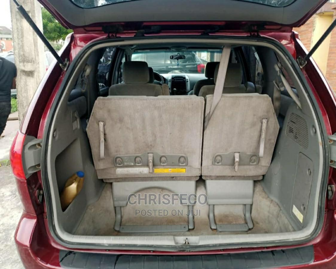 Toyota Sienna 2008 Red   Cars for sale in Ikeja, Lagos State, Nigeria