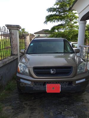 Honda Pilot 2004 Gold | Cars for sale in Lagos State, Ajah