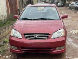 Toyota Corolla 2004 S Red | Cars for sale in Lagos State, Alimosho