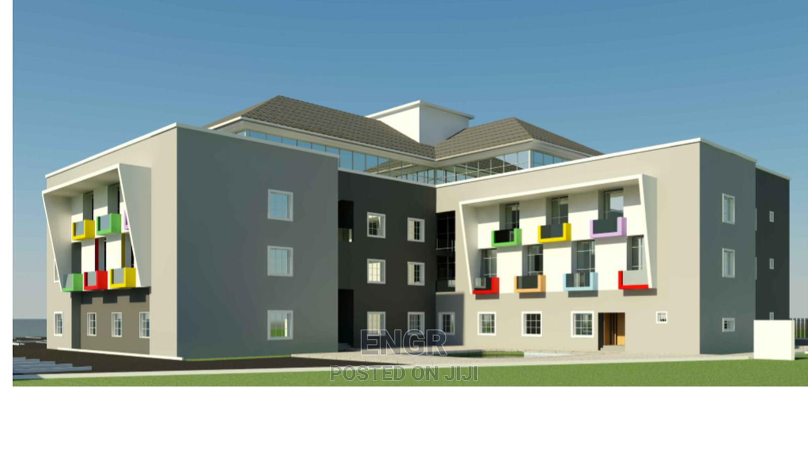 Uncompleted 52 Rooms Hotel For Sale   Commercial Property For Sale for sale in Jahi, Abuja (FCT) State, Nigeria