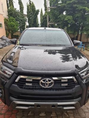 New Toyota Hilux 2021 Black   Cars for sale in Abuja (FCT) State, Maitama