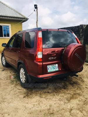 Honda CR-V 2006 LX Automatic Red   Cars for sale in Lagos State, Ibeju
