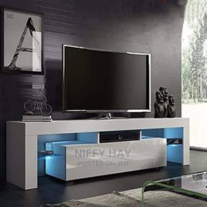 TV Console With Perfect Lighting | Furniture for sale in Lagos State, Ikeja
