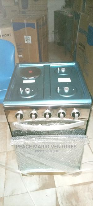 Quality Standing Gas Cooker 3gas One Electric With Oven | Kitchen Appliances for sale in Lagos State, Lekki