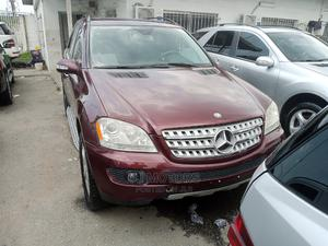 Mercedes-Benz M Class 2008 ML 350 4Matic Red | Cars for sale in Lagos State, Apapa