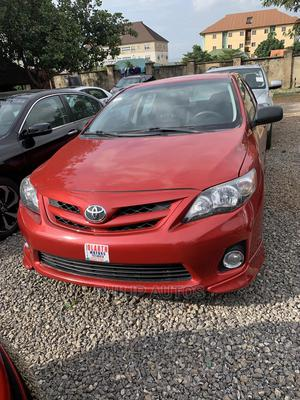 Toyota Corolla 2012 Red | Cars for sale in Abuja (FCT) State, Lokogoma