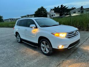 Toyota Highlander 2013 Limited 3.5l 4WD White   Cars for sale in Lagos State, Gbagada