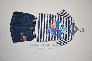 Imported Round Neck Shirt With Short | Children's Clothing for sale in Oyo State, Ibadan