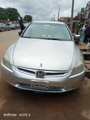 Honda Accord 2004 2.4 Type S Automatic Silver | Cars for sale in Lagos State, Ifako-Ijaiye