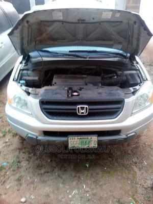 Honda Pilot 2006 EX-L 4x4 (3.5L 6cyl 5A) Silver | Cars for sale in Ogun State, Ado-Odo/Ota