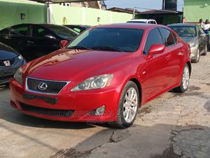 Lexus IS 2007 250 SE Red | Cars for sale in Lagos State, Ikeja