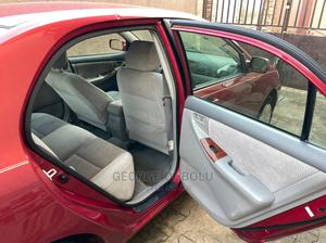Toyota Corolla 2007 Red   Cars for sale in Lagos State, Shomolu