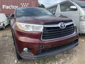 Toyota Highlander 2014 LE 4dr SUV (3.5L 6cyl 6A) Red | Cars for sale in Lagos State, Apapa