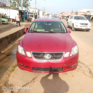 Lexus GS 2008 350 Red | Cars for sale in Lagos State, Abule Egba