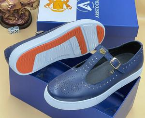 Lovely Men's Sandals Shoes Blue White Sole | Shoes for sale in Lagos State, Lekki