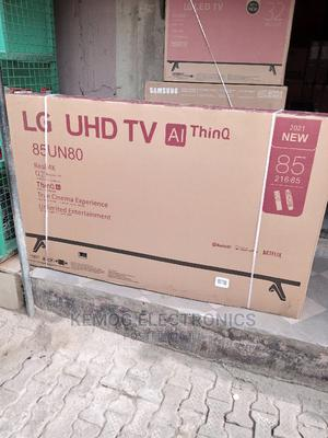 85 LG Inches Smart Tv 4k   TV & DVD Equipment for sale in Lagos State, Isolo