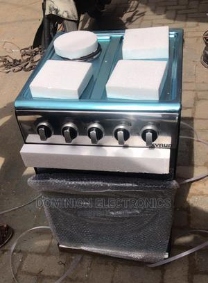 New Skyrun Standing Gas Cooker(3+1) Gas Electric With Oven | Kitchen Appliances for sale in Lagos State, Ojo