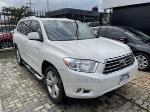 Toyota Highlander 2008 Limited 4x4 White | Cars for sale in Lagos State, Lekki