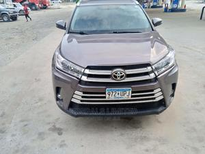 Toyota Highlander 2014 Gray   Cars for sale in Lagos State, Ajah