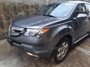Acura MDX 2008 SUV 4dr AWD (3.7 6cyl 5A) Gray | Cars for sale in Lagos State, Alimosho