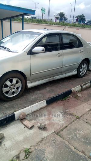 Toyota Corolla 2005 1.4 D-4d Automatic Silver | Cars for sale in Lagos State, Ikeja