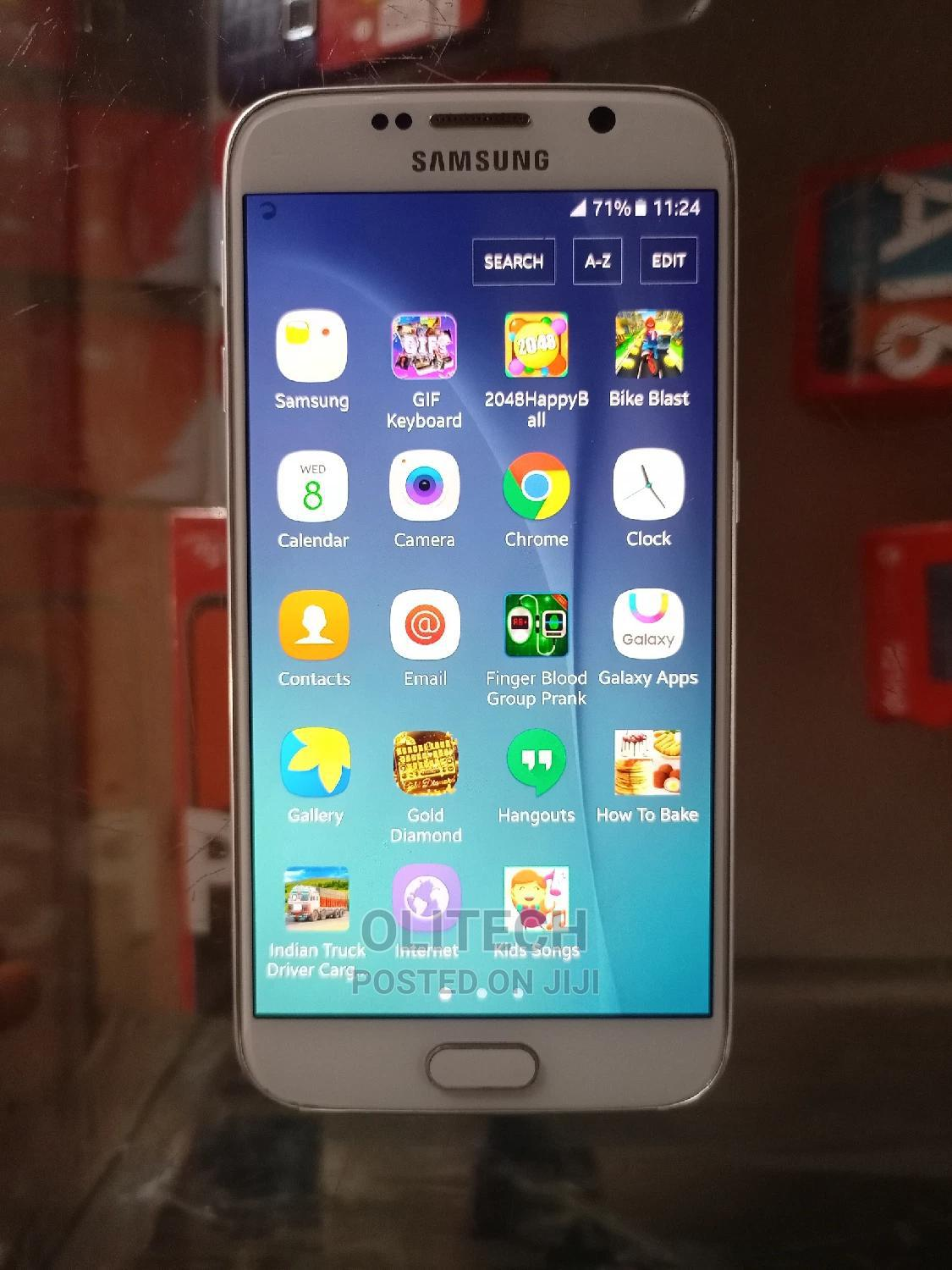 Samsung Galaxy S6 32 GB White   Mobile Phones for sale in Akure, Ondo State, Nigeria
