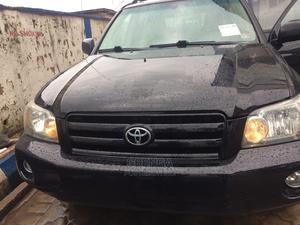 Toyota Highlander 2005 Black   Cars for sale in Lagos State, Abule Egba