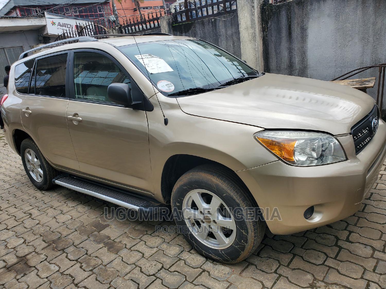 Toyota RAV4 2008 Gold   Cars for sale in Oshodi, Lagos State, Nigeria