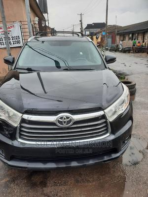 Toyota Highlander 2015 Black | Cars for sale in Lagos State, Surulere
