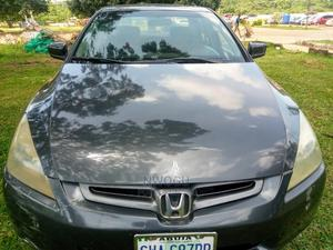 Honda Accord 2005 Sedan LX V6 Automatic Black | Cars for sale in Abuja (FCT) State, Apo District