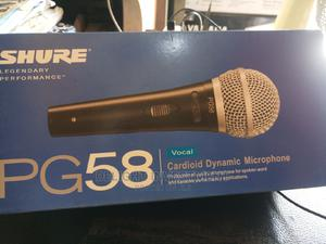 Original PG58 Shure Wired Mic   Audio & Music Equipment for sale in Lagos State, Ojo