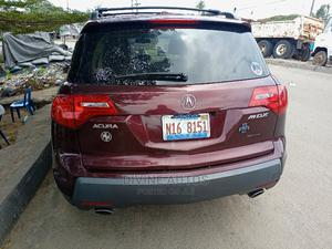 Acura MDX 2009 SUV 4dr AWD (3.7 6cyl 5A) Red | Cars for sale in Lagos State, Amuwo-Odofin