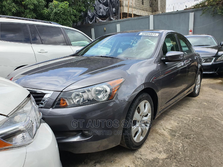 Honda Accord 2008 2.4 EX-L Gray | Cars for sale in Ikeja, Lagos State, Nigeria