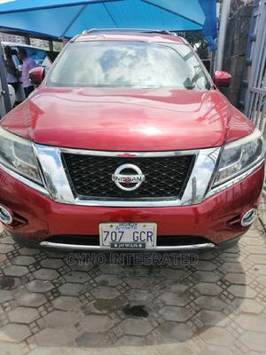 Nissan Pathfinder 2013 Platinum 4x4 Red | Cars for sale in Lagos State, Amuwo-Odofin