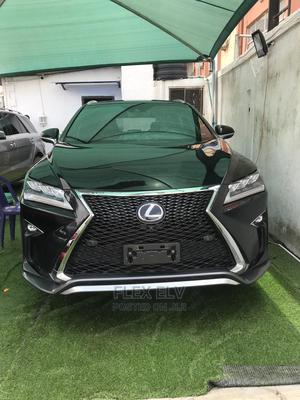 Lexus RX 2017 350 F Sport FWD Black | Cars for sale in Lagos State, Lekki