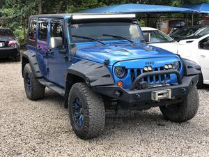 Jeep Wrangler 2013 Unlimited Sport Blue | Cars for sale in Abuja (FCT) State, Jahi