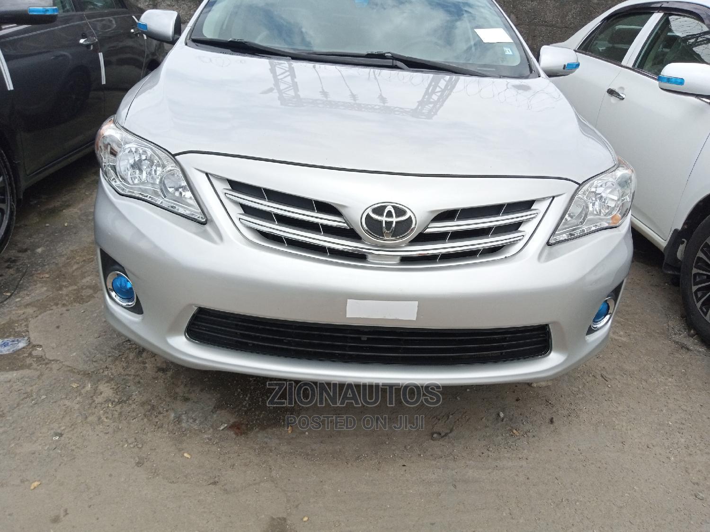 Toyota Corolla 2013 Silver