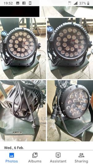 Waterproof Led Par Cans 18*10w and 24*10w   Stage Lighting & Effects for sale in Lagos State, Ojo