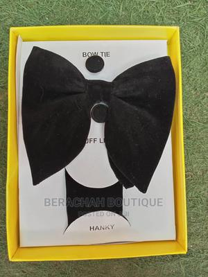 Men Bow Tie and Cufflink | Clothing Accessories for sale in Abuja (FCT) State, Gwarinpa