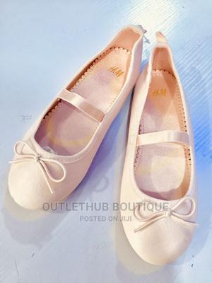 H M USA Imported Girl Dress Shoe -Light Pink | Children's Shoes for sale in Lagos State, Ikorodu