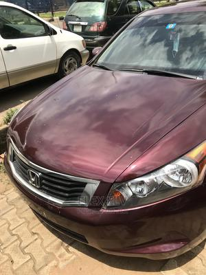 Honda Accord 2011 Sedan LX Automatic Red | Cars for sale in Lagos State, Ikeja